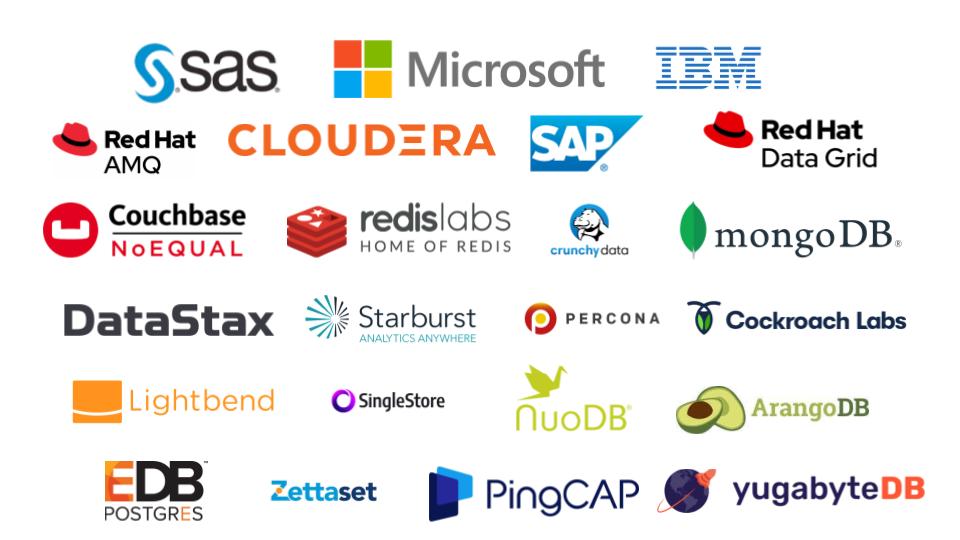 Data workload ISV Logo Wall