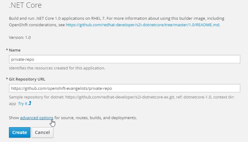 OpenShift Web Console