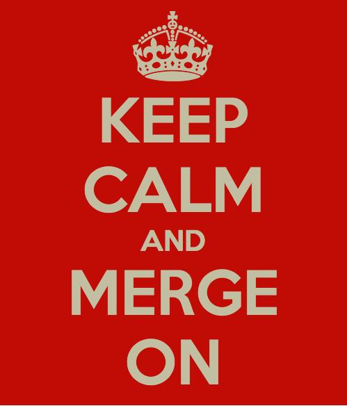 Keep Calm and Merge On