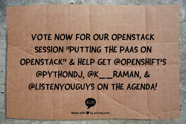 OpenStack Heat on OpenShift Picture