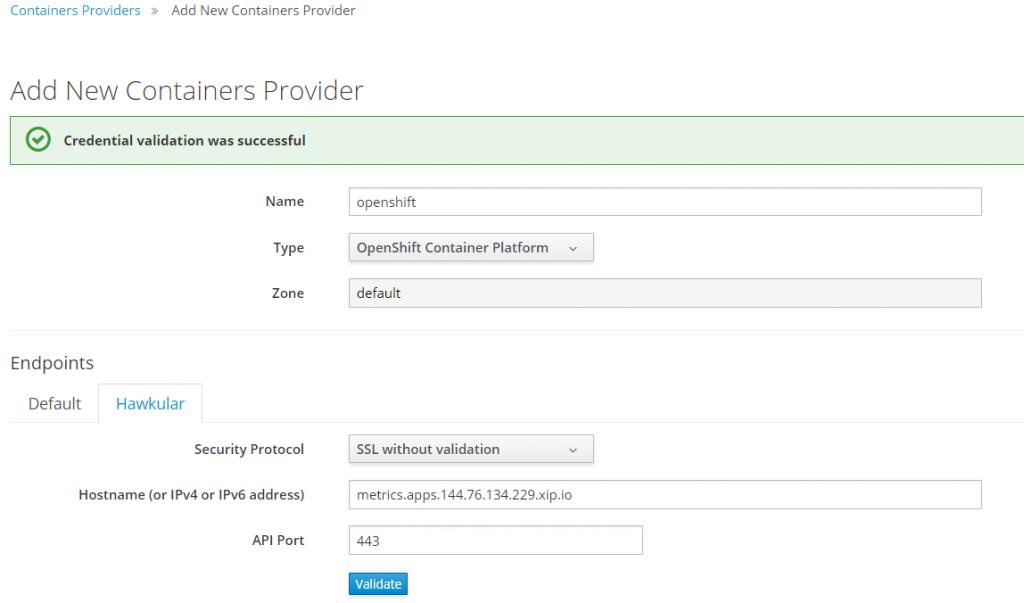 add new container provider 2