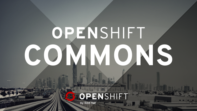 OpenShift Commons Header