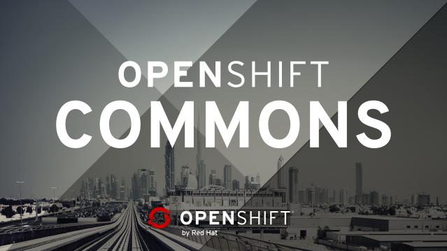 OpenShift Commons Header