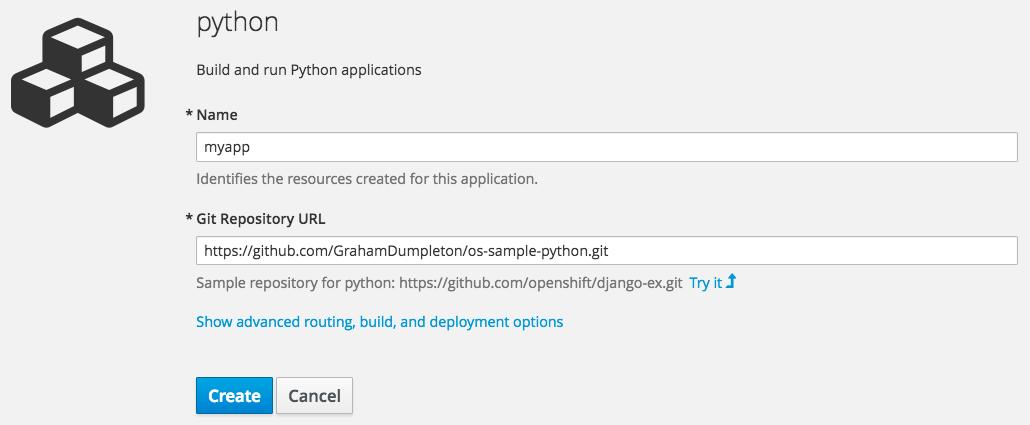 create-python-application