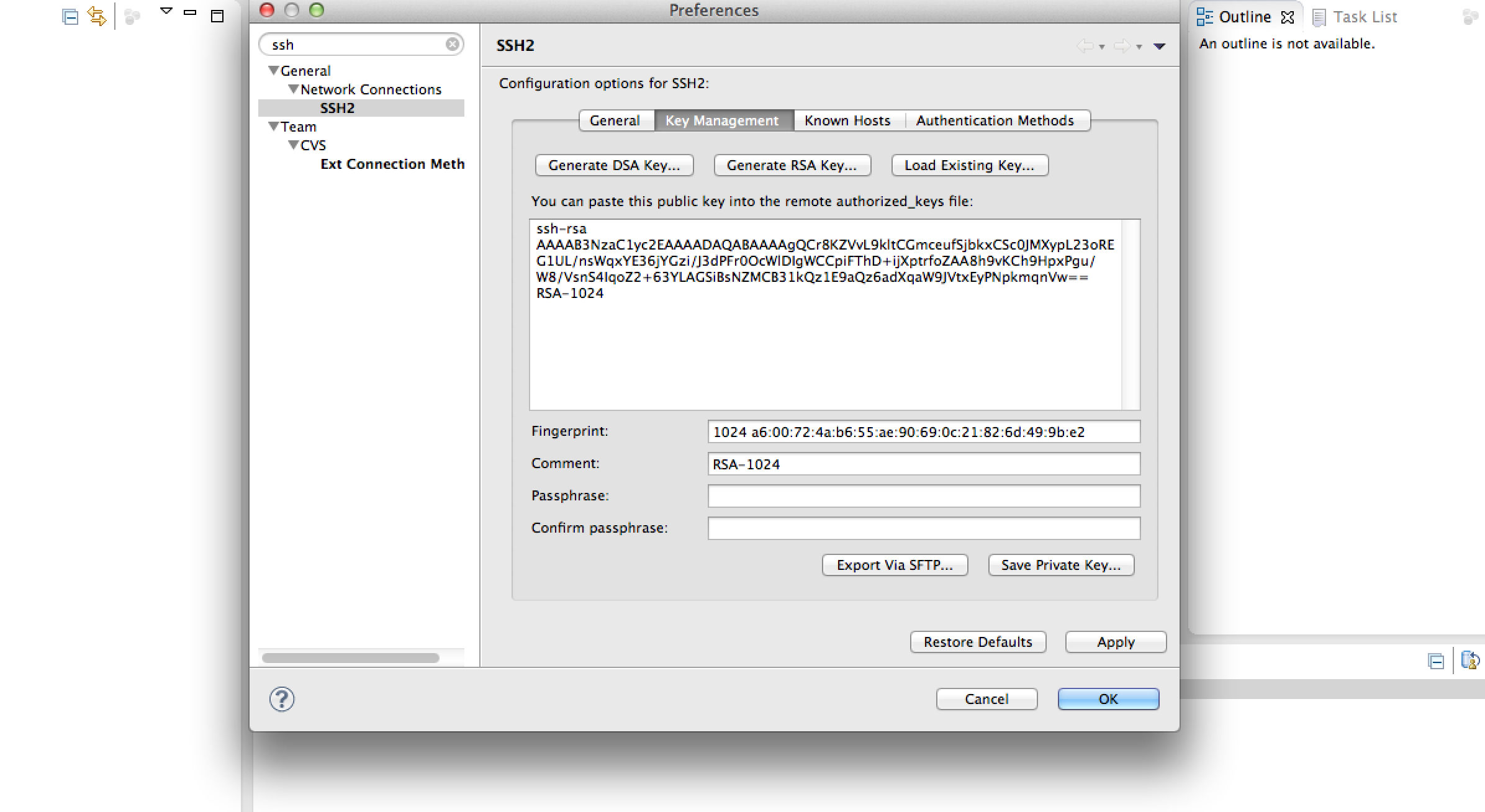 Creating SSH Keys