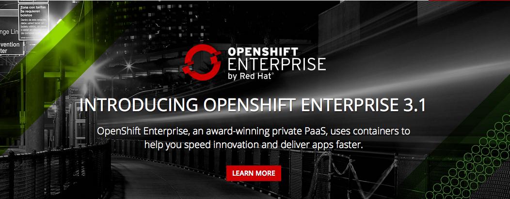 OpenShift Enterprise 3.1