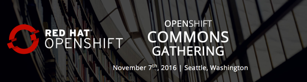 OpenShift Commons Gathering Banner