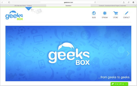 Learn more about Geeks Box in our App Gallery