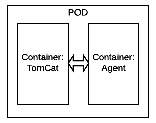 Pod, Container, Tomcat, Agent