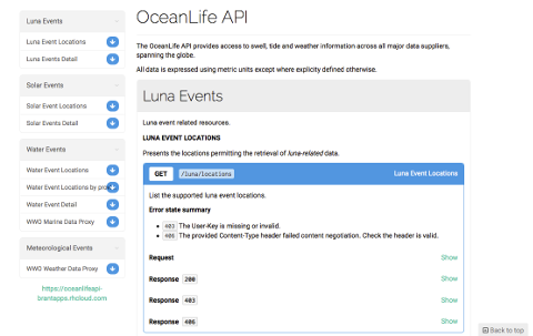 Learn more about OceanLife API in our App Gallery
