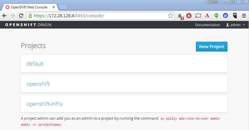 openshift-console