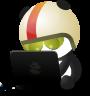 OpenShift Origin Community Mascot Rocket Panda