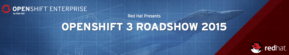 OpenShift 3 Roadshow Banner