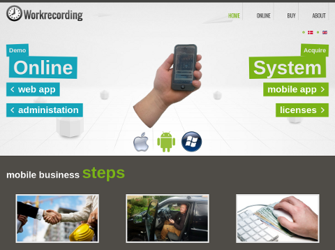 Learn more about Workrecording in our Application Gallery