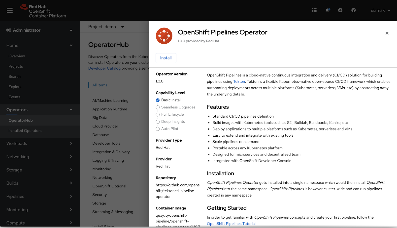 OpenShift Pipelines Now Available as Technology Preview
