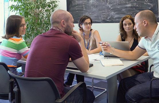 Amadeus team meeting