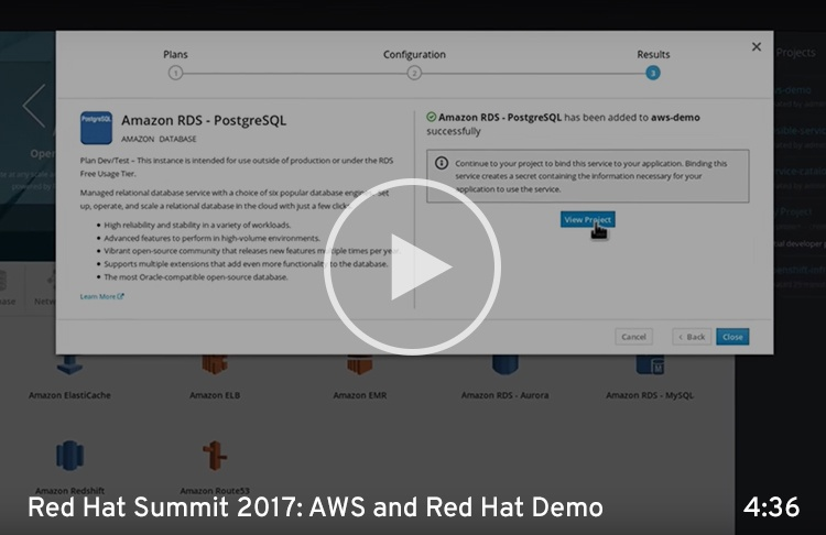 AWS Red Hat Demo