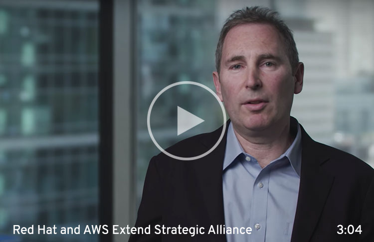 AWS and Red Hat extend strategic alliance
