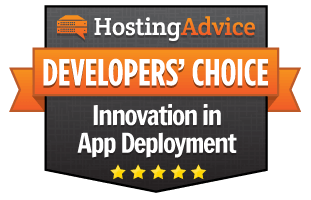 2017 Developers' Choice Award for Continuous Innovation in Application Deployment