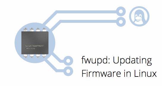 logo: fwupd: Updating Firmware in Linux