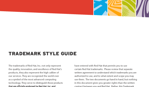 Red Hat Trademark Style Guide