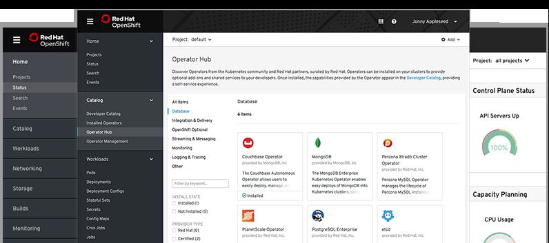 openshift screenshots