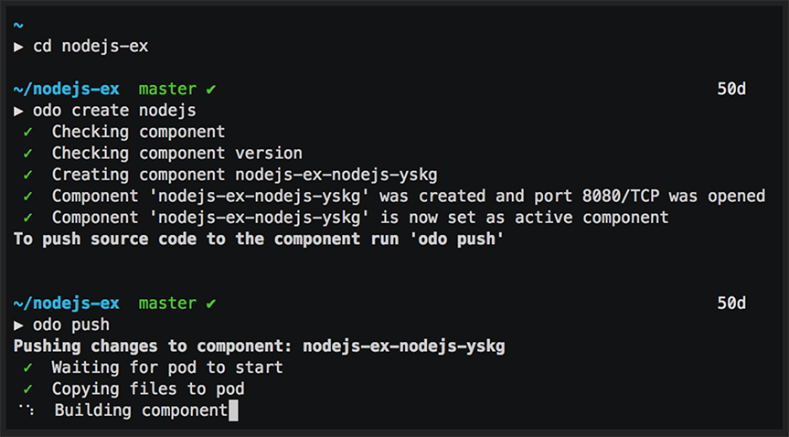 OpenShift Do (odo)
