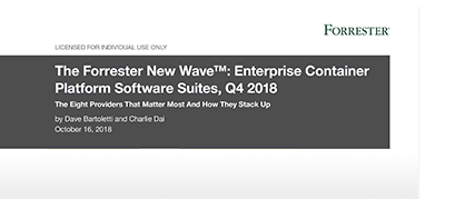 Analyst Report_ Forrester Wave Container Platforms