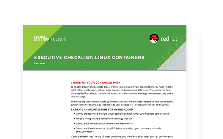 4 steps to launch your container journey