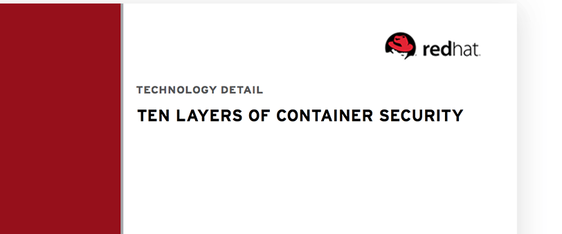 Ten Layers of Container Security